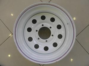 Диск колесный белый 6x139.7 R16 6x8 ET-19 PCD110