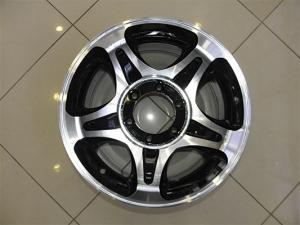 Диск колесный литой LF Works Disk LF8195 8.0*16 6*139.7 ET-5 110 черно-серебристый